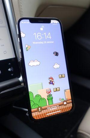 iPhone 12 / Pro MagSafe Charger adapter voor bestaande mount met extra steun